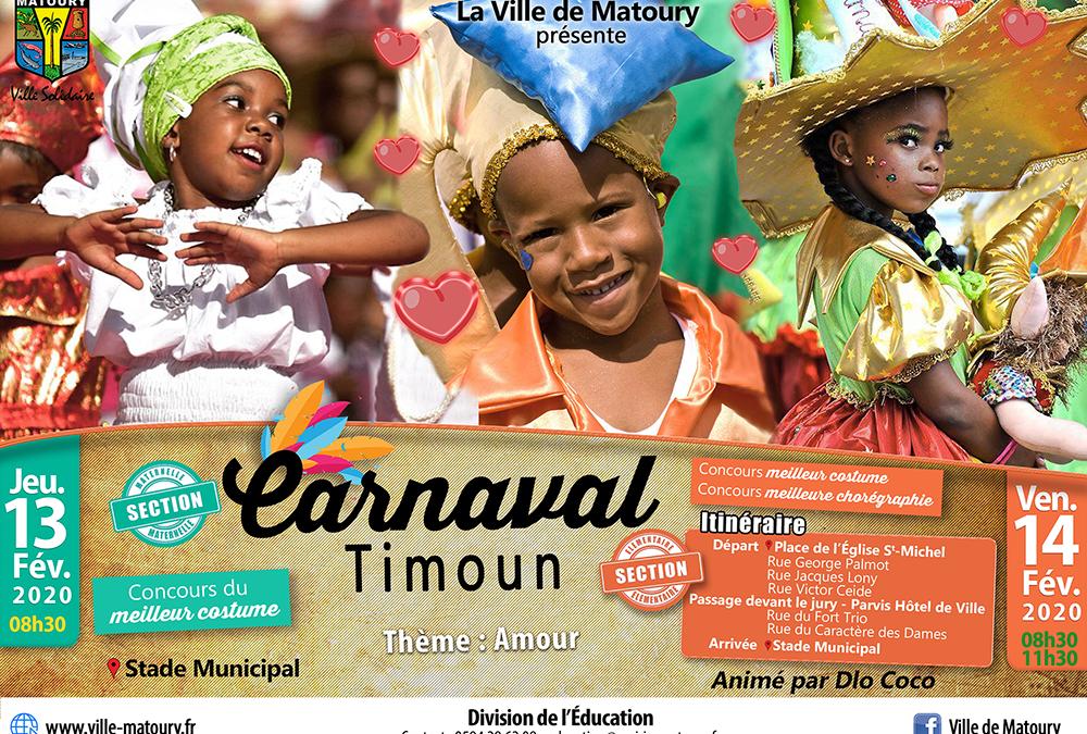 Matoury au rythme du carnaval – Défilé des enfants